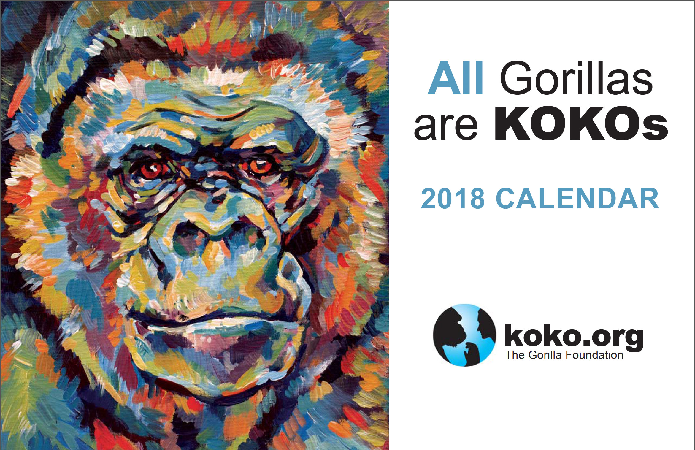 2018 Koko Calendar